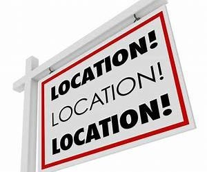 The first rule of real estate purchase … Location, Location, Location